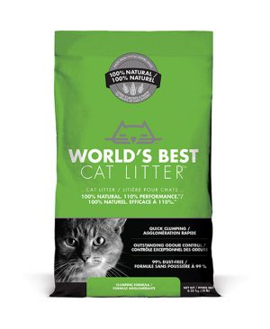 World's Best Cat Litter Clumping Formula Corn Cat Litter
