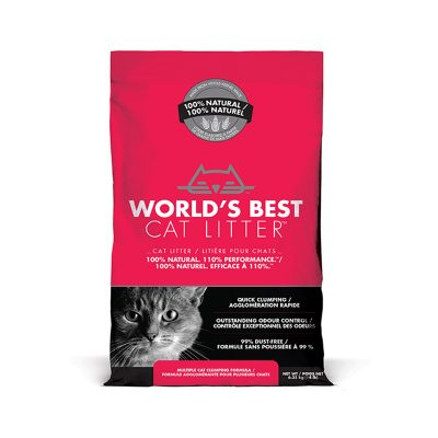World's Best Cat Litter Multiple Cat Clumping Formula Corn Cat Litter